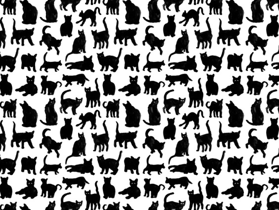 cats pattern naomi smith